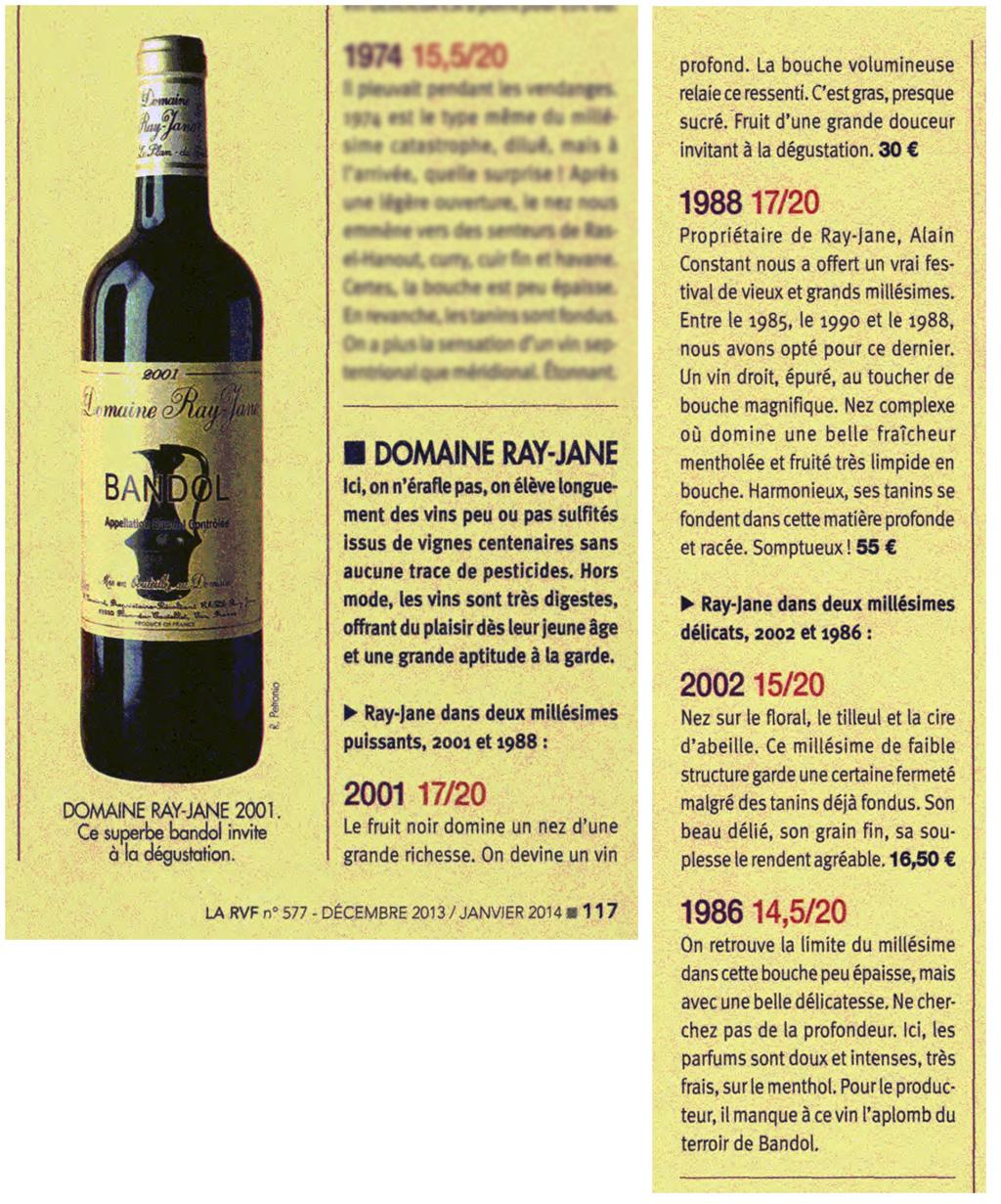 Revue des vins de france n 577 for Revue des vins de france